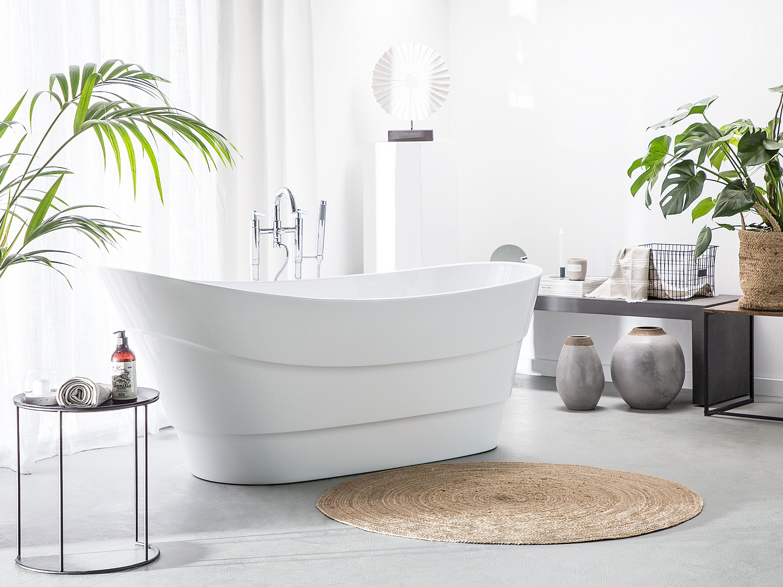 Banheira autónoma em branco BUENAVISTA