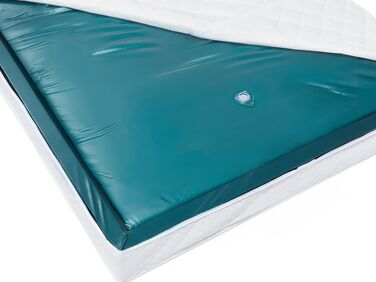Strobel Organic Hanover Complete Padded Waterbed with Hydro-Support HS303 Waveless Mattress Black Vinyl King