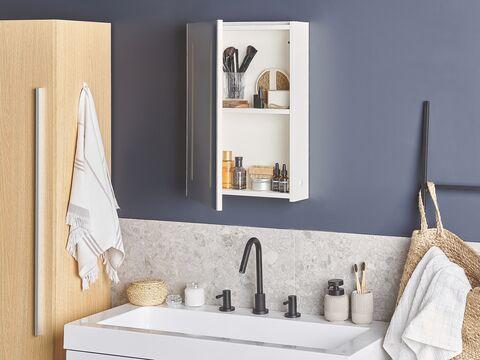 Bathroom Wall Mounted Mirror Cabinet, Bathroom Mirror 40 X 60