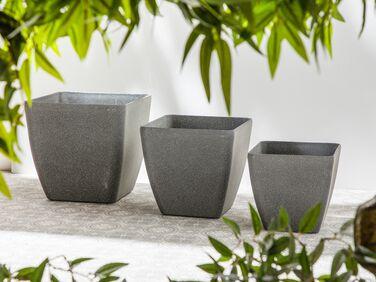 Heffen Belgium Interesting Color and Design Planter for Indoor Plant or Herb Mid Century Modern Ceramic Plant Pot B.P.F