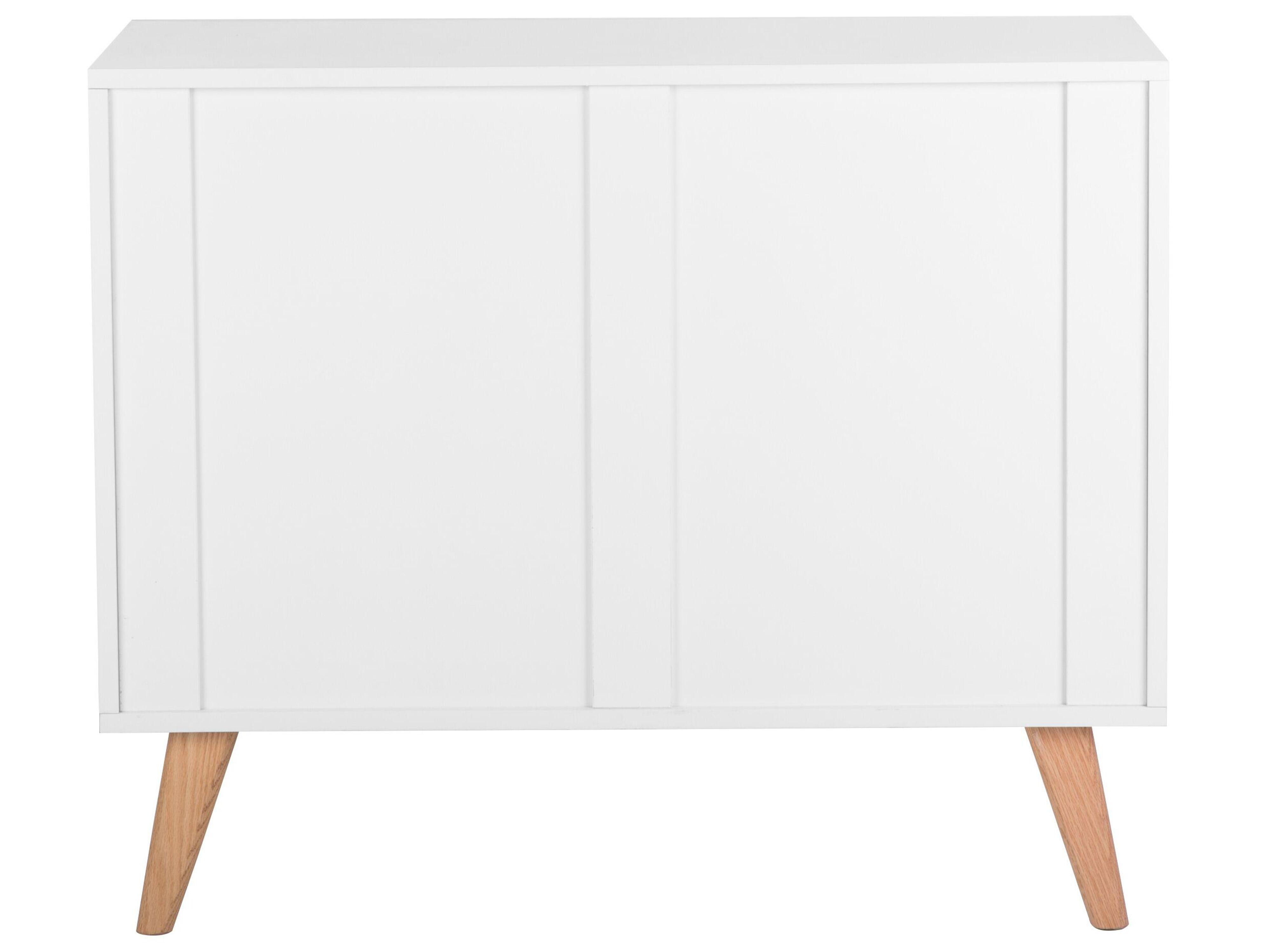 Cassettiera in Colore Bianco Salem