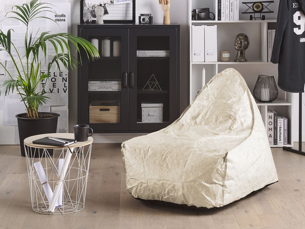 Bean Bag Chair Beige Drop Furniture Lamps Accessories Up To 70 Off Avandeo Online Store