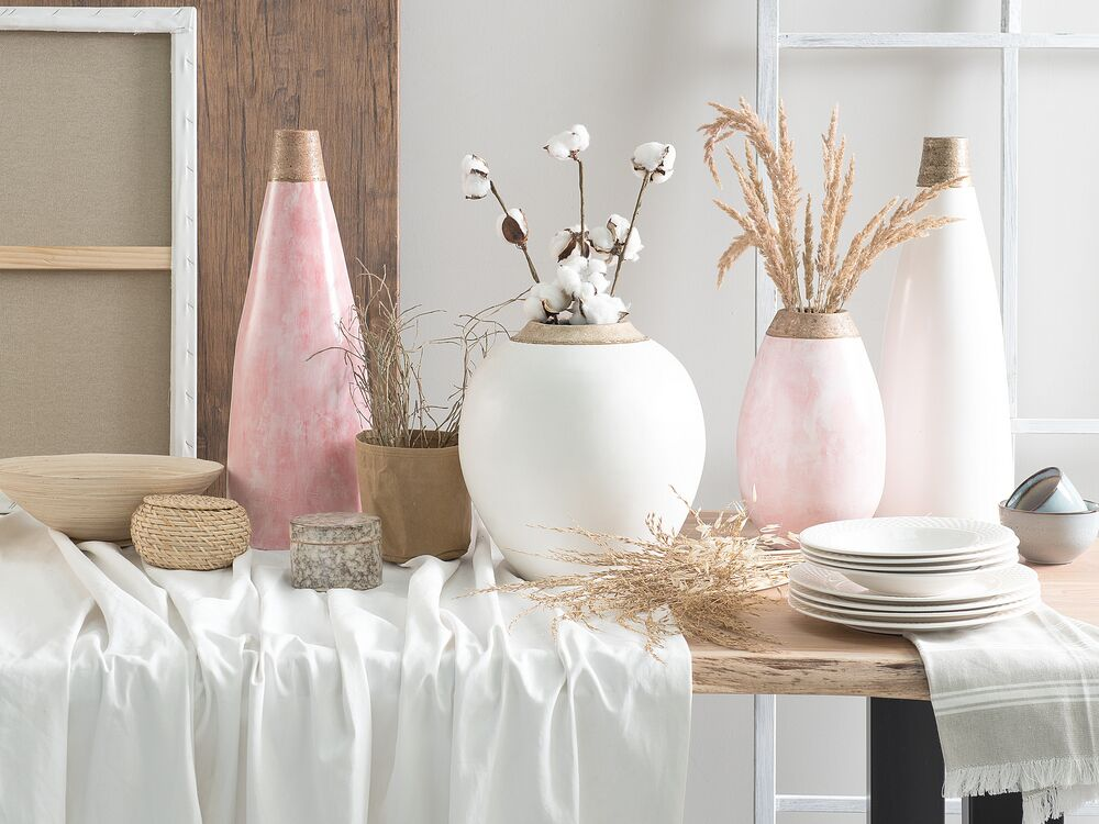 Decoratieve Vaas Roze Emona Gratis Levering