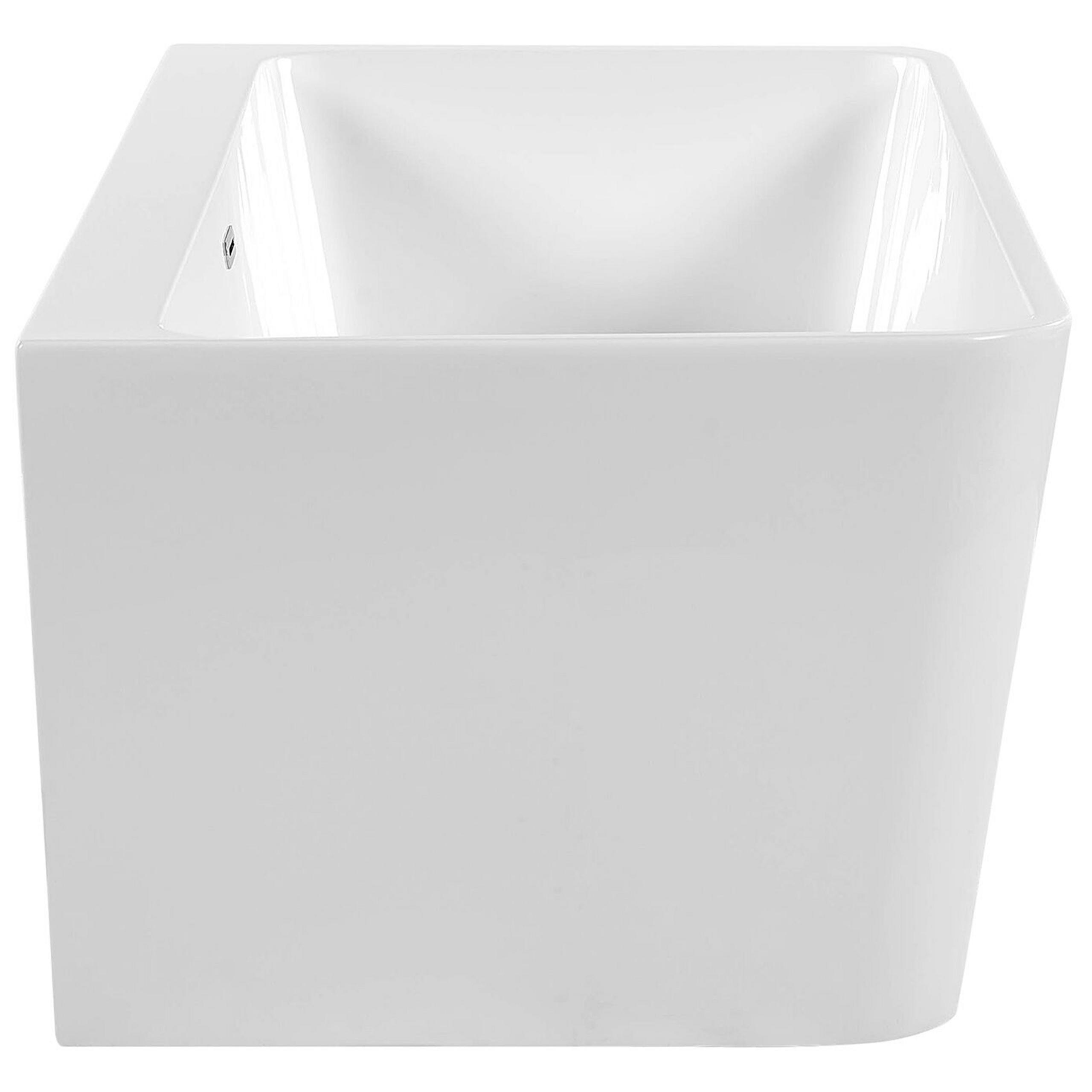 Banheira autónoma 170 cm em branco HASSEL